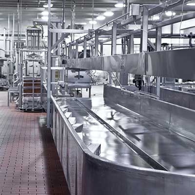 Cleaning foodsector